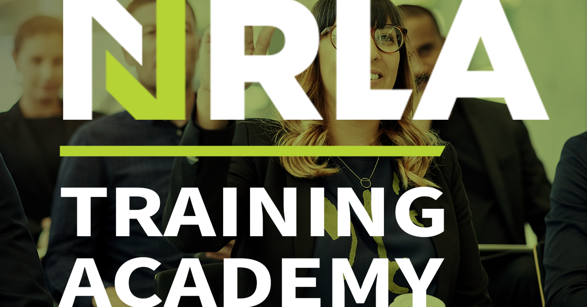 NRLA training: New courses launched